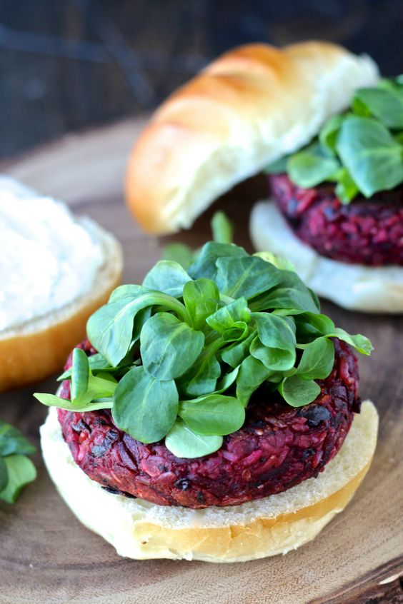 Beet burger, Beets and Burgers on Pinterest