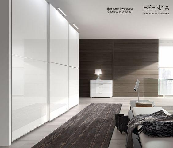 Armario cristal blanco disponible en varias medidas de - Armario dormitorio blanco ...