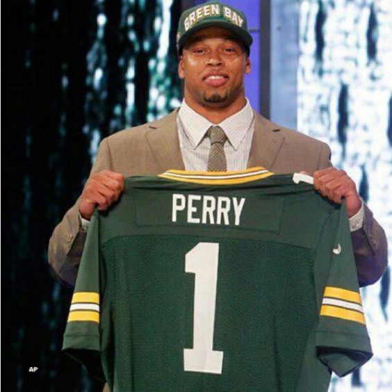 Welcome To Packer Nation Nick Perry! 2012 1st Rd. Pick at 28th.