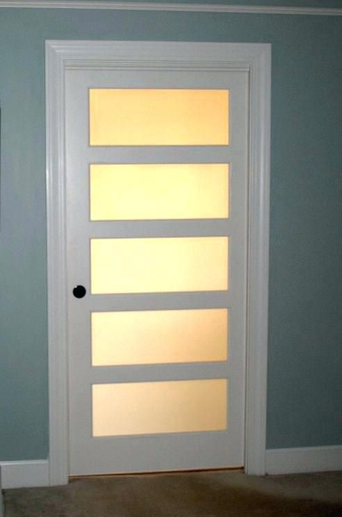 Interior Doors With Frosted Glass Panels To Be Considered Or Not