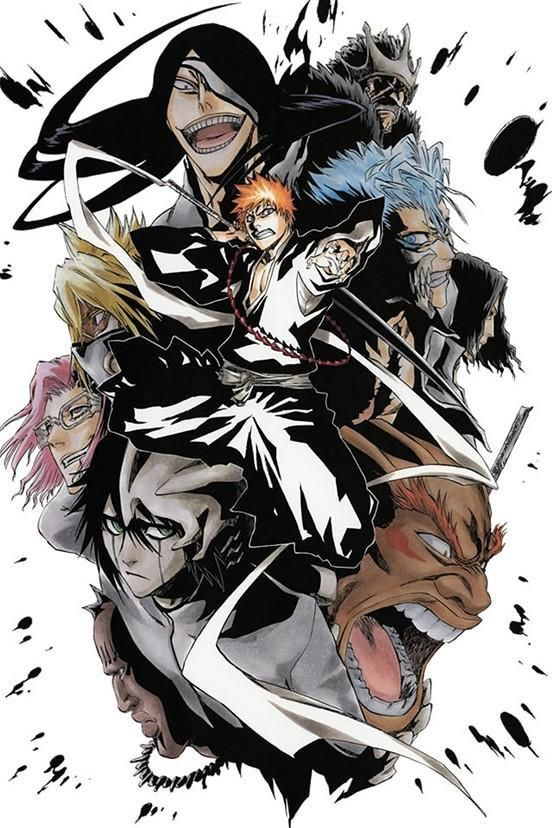 bleach anime art posters hd big prints