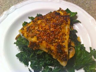 Maple Dijon Cod - I made this tonight and it is delicious!