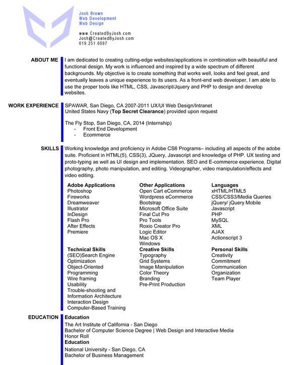 WarFace Video Josh Resumeu0027 Pinterest Video editing, Graphics - video editing resume
