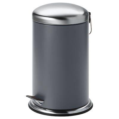 Variera Recycling Bin Black Ikea Poubelle Poubelle A Pedale Corbeille Papier