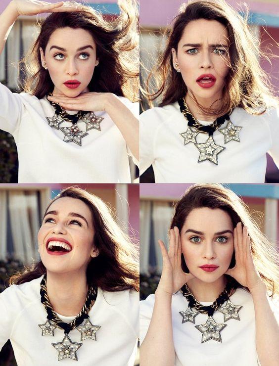emilia clarke fashion shoot3 Emilia Clarke Looks Fantastic in Glamour France Shoot by Jason Kim