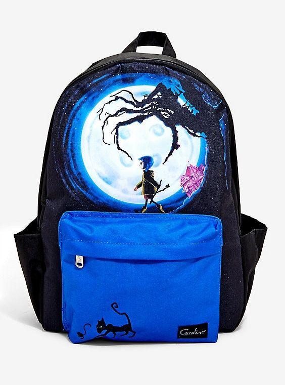 Coraline Moon Backpack Coraline Coraline Doll Coraline Jones
