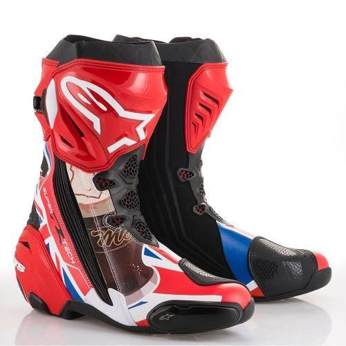 Alpinestars Mcguinness Supertech R Boots Now Available Boots Motorcycle Boots Alpinestars