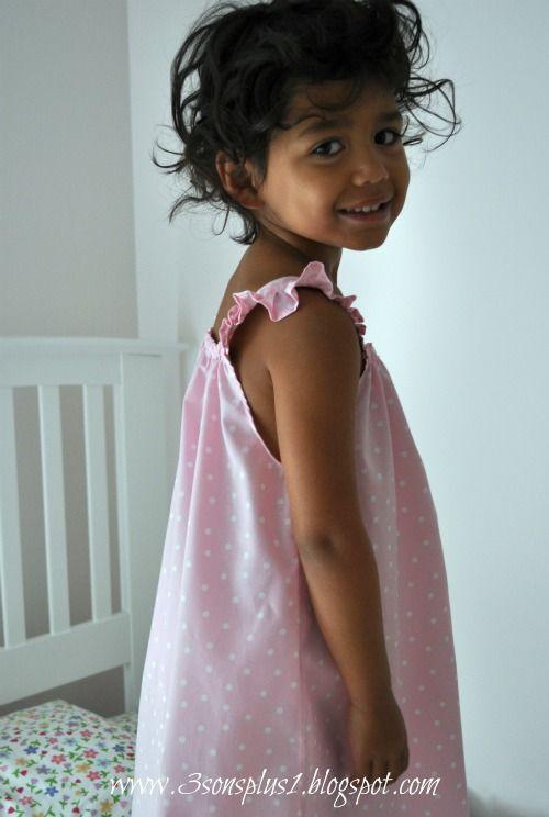 Comemore os Everyday Things: Tutorial de como fazer Verão Camisola de uma menina