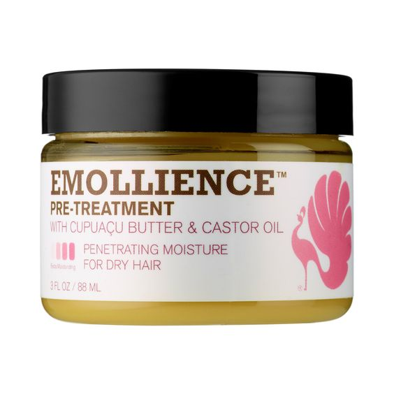 What it is:A luxurious oil treatment that restores moisture and sheen to dry, damaged hair.  What it is formulated to do:Featuring a thick, honey-like texture and an exotic cinnamon-spearment aroma, Emollience™ delivers the complete at-home,