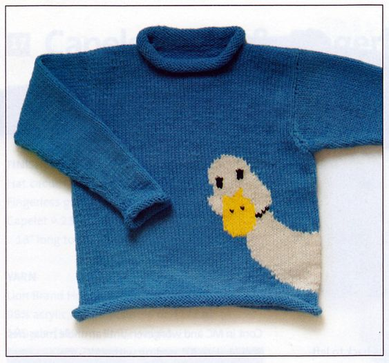 Ravelry: #18 Animal Pullovers pattern by Nicky Epstein ... good example of…: