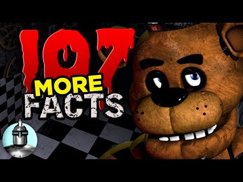 107 MORE Five Nights At Freddy's Facts | The Leaderboard - YouTube