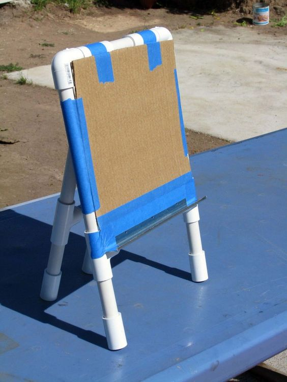 Pvc easel easels public and yard sale signs