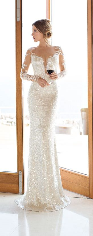 Stunning Shimmer by Julie Vino 2014 Bridal Collection