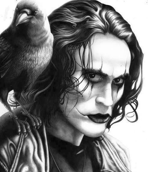 The Crow - Brandon Lee by William Anderson
