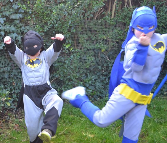 I am a kid at heart and a want to be superhero:)