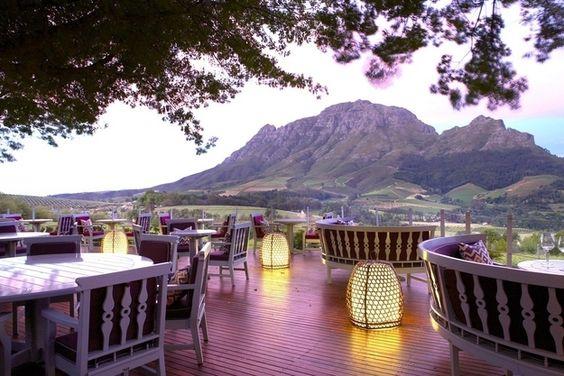 Delaire Graff Restaurant, Sudáfrica