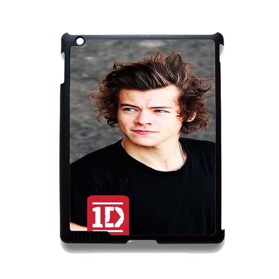 One Direction Harry Styles TATUM-8223 Apple Phonecase Cover For Ipad 2/3/4, Ipad Mini 2/3/4, Ipad Air, Ipad Air 2