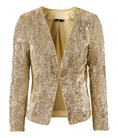 Blazer $59.95 Description Short, fitted jacket with a sequin ...