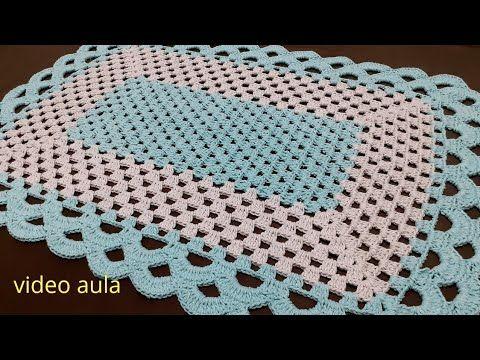 Tapete retangular bico arcos