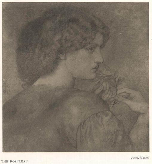 The Roseleaf - D.G.Rossetti
