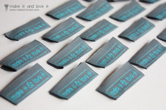 Clothing Labels…..by the 100′s | Make It and Love It
