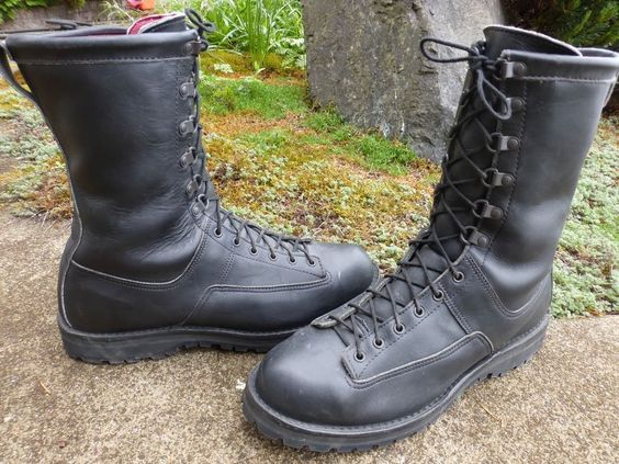 DANNER 69110 FORT LEWIS Black Insulated GORE-TEX Military Work