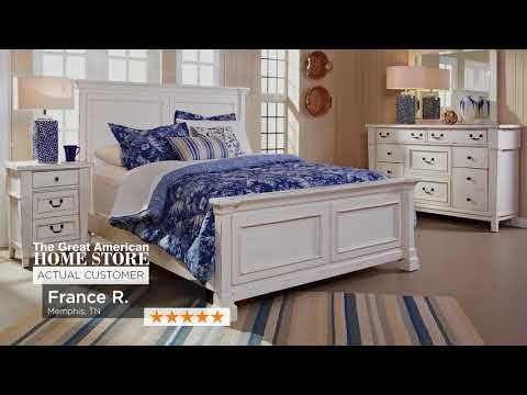 Reviews Great American Home Store Memphis Tn Southaven Ms Furniture American Home Furniture Panel Bed