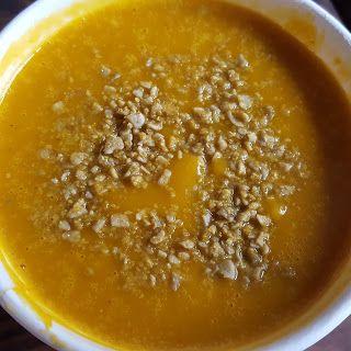 En tu salsa: Sopa de zapallo y vegetales asados con leche de co...