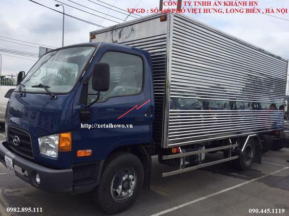 xe tải hyundai 3,5 tấn thùng kín