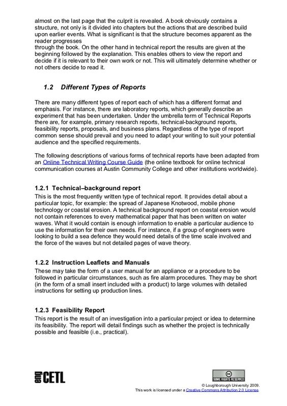 Effective report writing Creating Effective Teaching and Learning - survey report sample