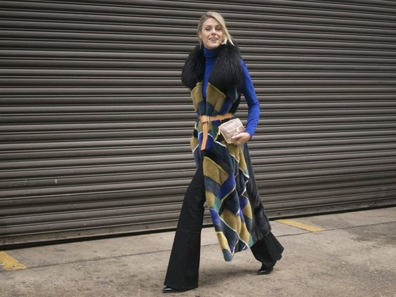 Pin for Later: The Street Style Hot Enough to Make You Forget the Cold NYFW Day…