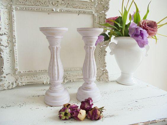 Kerzenständer  rosa