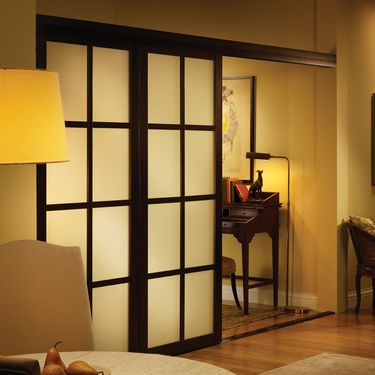Room dividers sliding door room dividers and sliding doors on pinterest - Dwell small spaces image ...