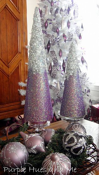 Another Christmas tree you can make yourself! A great table centerpiece!