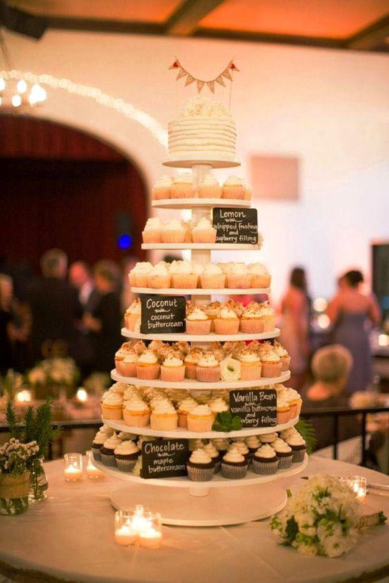 cupcake toren