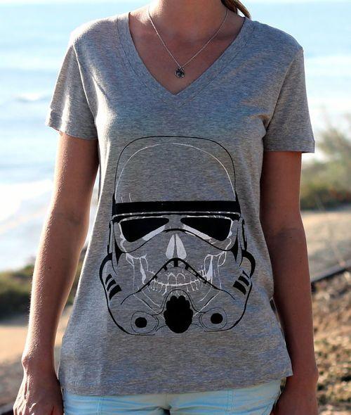 stormtrooper,  style -  skull  #girls,  hipster -  #star wars