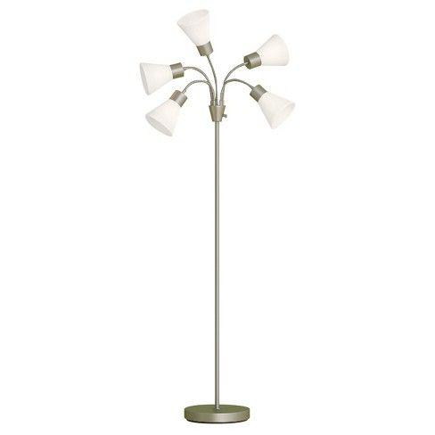 5 Head Floor Lamp Room Essentials Floor Lamp Floor Lamp