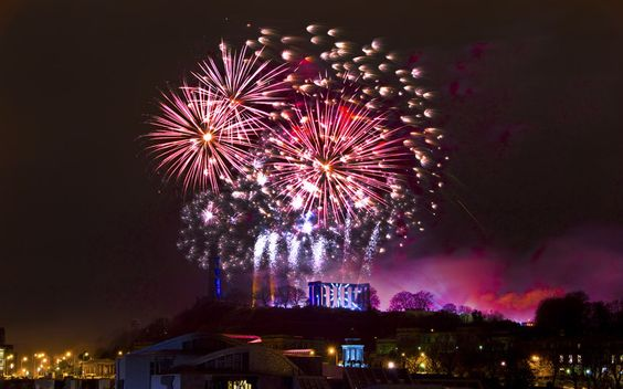 Spending Hogmanay in Edinburgh. Article from The Telegraph.: