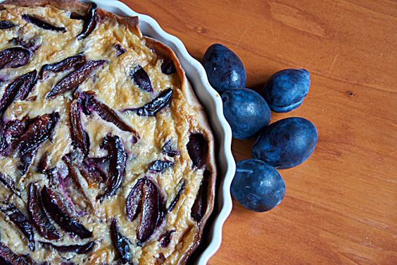 Plum, Chocolate and Frangipane Pie | Pies, Tarts, Crisps, and Crumbles ...
