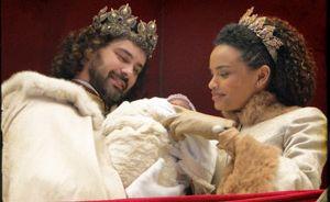 Augusto e Cesária, tv novel Cordel Encantado