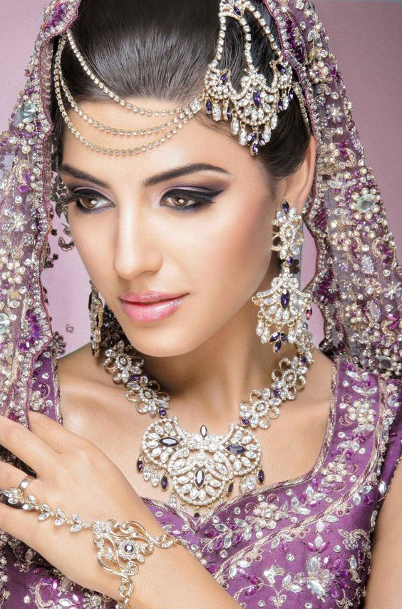 Indian, Bridal eye makeup and The beauty on Pinterest