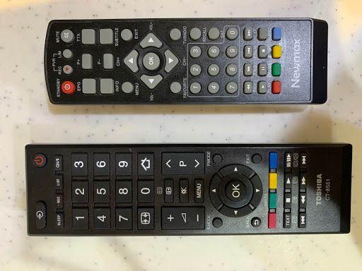 مشكلة في ريموت جهاز استقبال التلفزيون الرسيفر Tv Remote Remote Control Remote