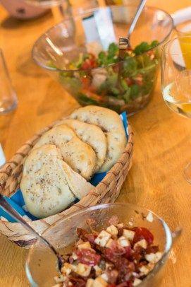 Rezepte für zwei: Salat im Brot