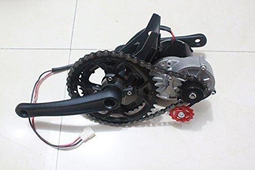 Amazon Com 36v 350w Electric Bicycle Mid Drive Motor Kit High Speed Electric Scooter Diy Homemade Electric Electric Bike Kits Electric Mountain Bike Bike Kit
