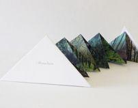 MOUNTAIN & SEA BOOK by Shou-Wei Tsai, via Behance
