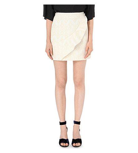 MAJE Jody Jacquard Skirt. #maje #cloth #skirts
