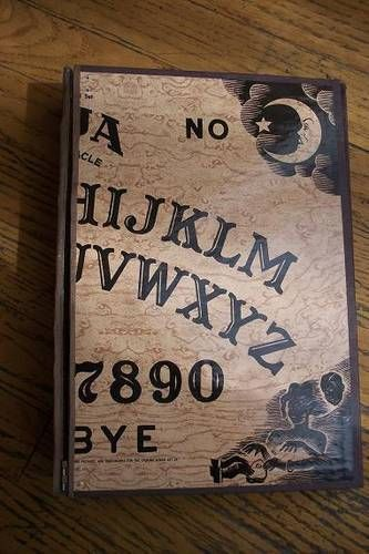 Ouija Board Notebook / Journal - CRAFTSTER CRAFT CHALLENGES  - Knitting, sewing, crochet, tutorials, children crafts, jewlery, needlework, swaps, papercrafts, cooking and so much more on Craftster.org