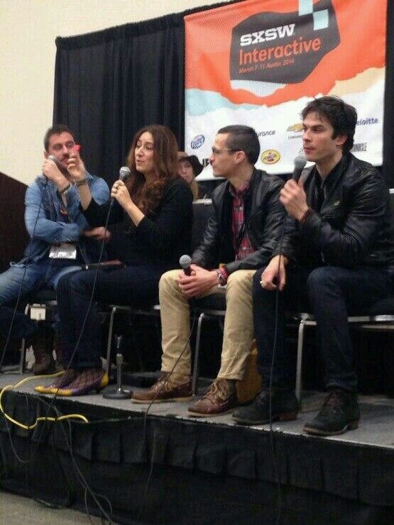 Ian at SXSW Interactive Panel on Austin,  TX on 03/08/14