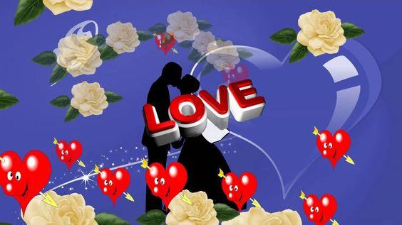 Футаж Love HD