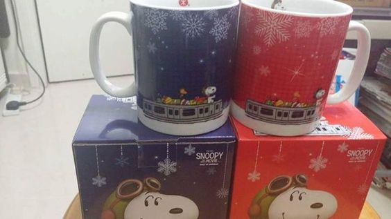 CollectPeanuts.com on Facebook - Take an afternoon break with Snoopy! Cecilia shares Snoopy Tea set from Taiwan and Snoopy Movie mugs from Hong Kong.   Join the Snoopy Spotters! Post photos of your favorite Peanuts finds on the CollectPeanuts.com Facebook wall.